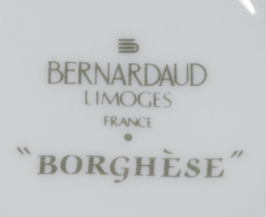 (122) BERNARDAUD LIMOGES 'BORGHESE' DINNER SERVICE - 6