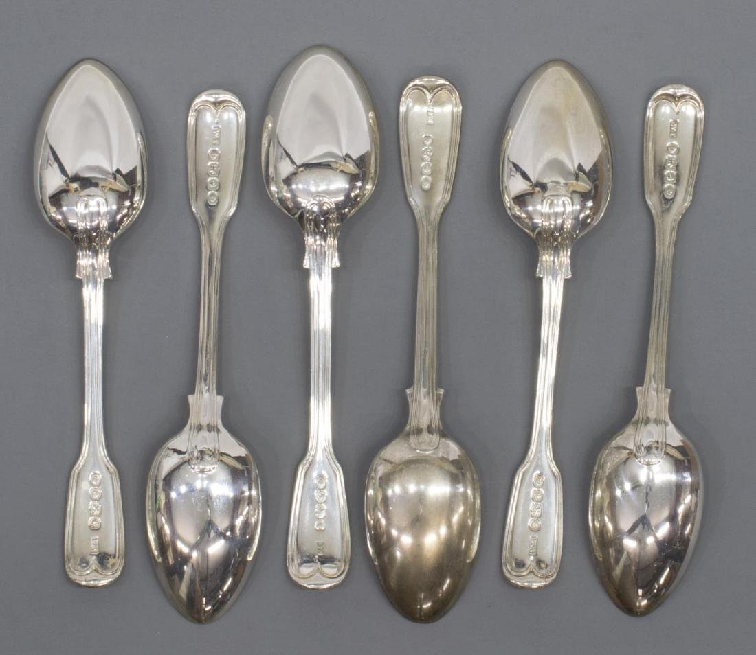 (23) GEORGIAN & VICTORIAN STERLING SILVER FLATWARE - 7