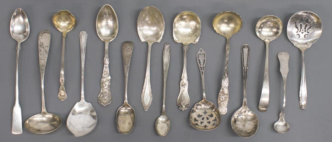 (44) LARGE GROUP OF STERLING SILVER FLATWARE - 4