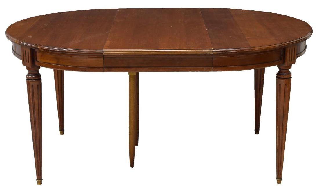 FRENCH LOUIS XVI STYLE DINING TABLE W/ LEAF - 2