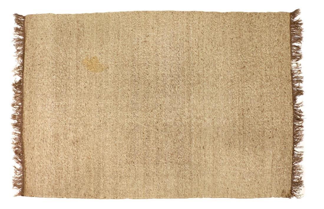 "LARGE NORTH AFRICAN BERBER WOOL KILIM, 10'6"" x 13'"