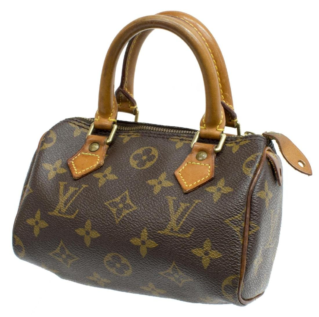 LOUIS VUITTON 'MINI SPEEDY' MONOGRAM CANVAS BAG