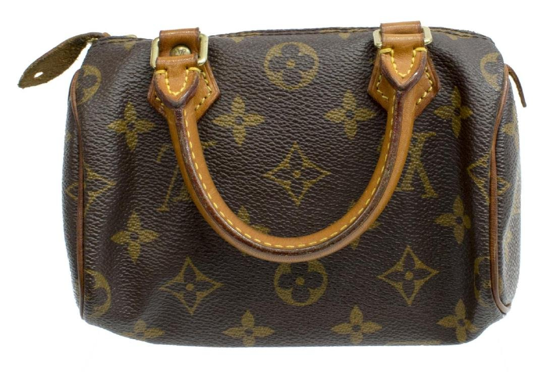 LOUIS VUITTON 'MINI SPEEDY' MONOGRAM CANVAS BAG - 2