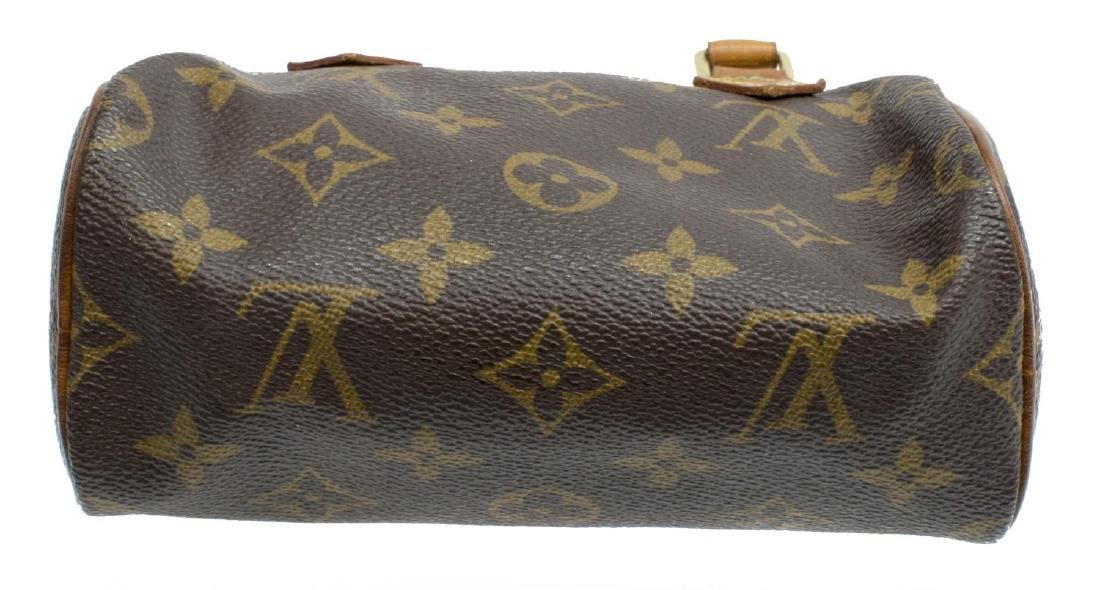 LOUIS VUITTON 'MINI SPEEDY' MONOGRAM CANVAS BAG - 3