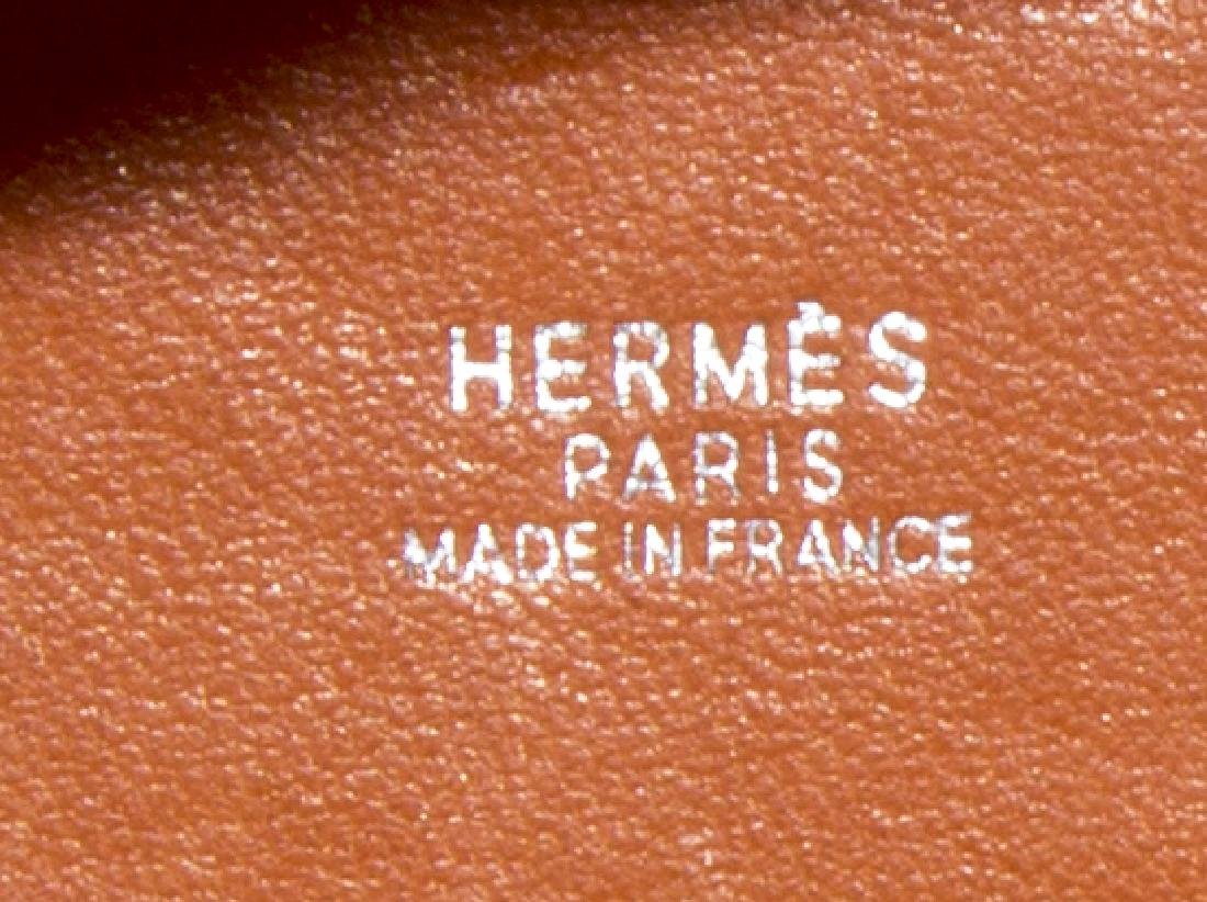 HERMES PICOTIN PM ORANGE GRIZZLY SUEDE BUCKET BAG - 5
