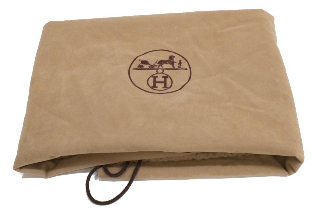 HERMES 'HERBAG' NATURAL TOILE INTERCHANGEABLE BAG - 6