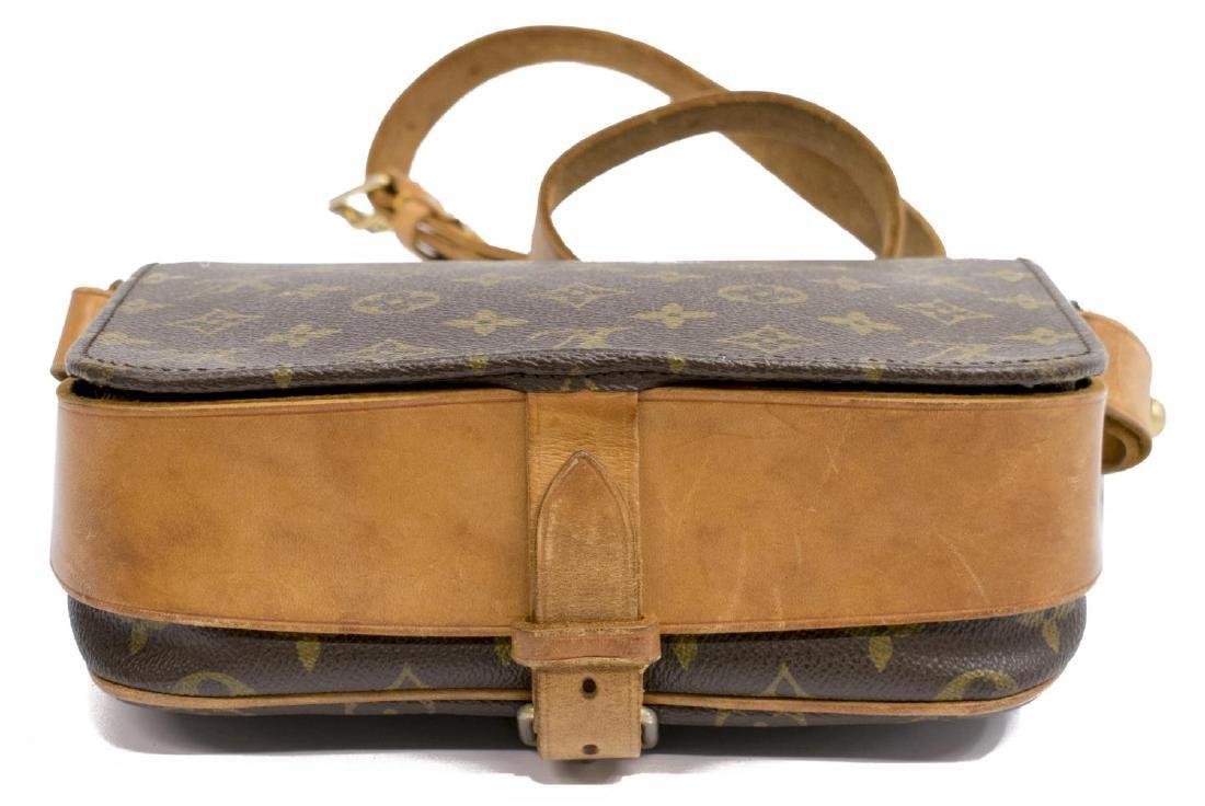 LOUIS VUITTON 'CARTOUCHIERE' MONOGRAM CANVAS BAG - 3