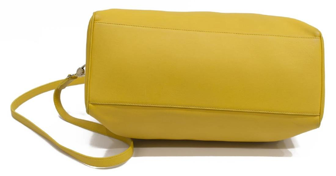 BVLGARI YELLOW SOFT LEATHER BOSTON BAG - 3