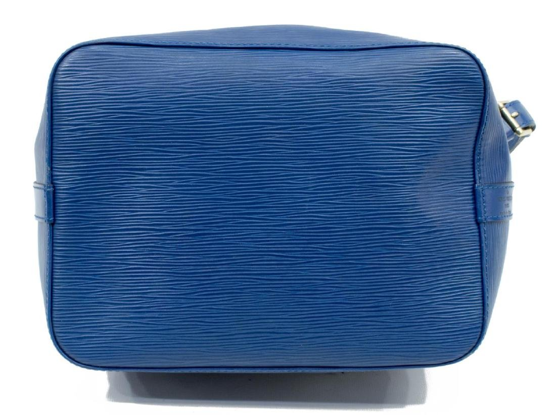LOUIS VUITTON 'NOE' BLUE EPI LEATHER HANDBAG - 3