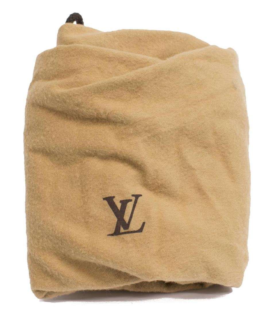LOUIS VUITTON 'NOE' GREEN EPI LEATHER BUCKET BAG - 5