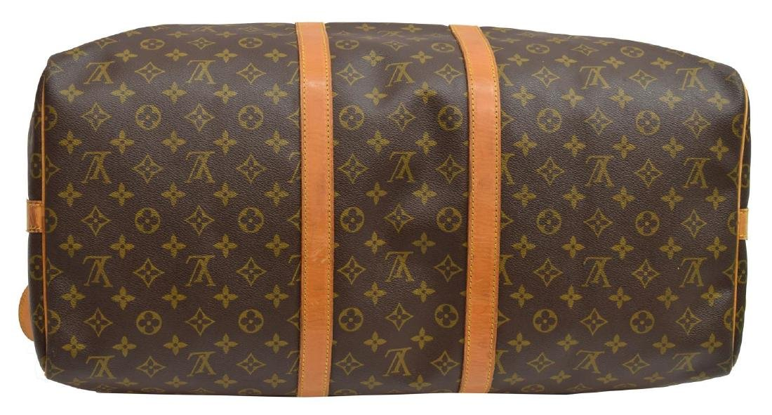 LOUIS VUITTON 'KEEPALL 55 BANDOULIERE' DUFFLE BAG - 3