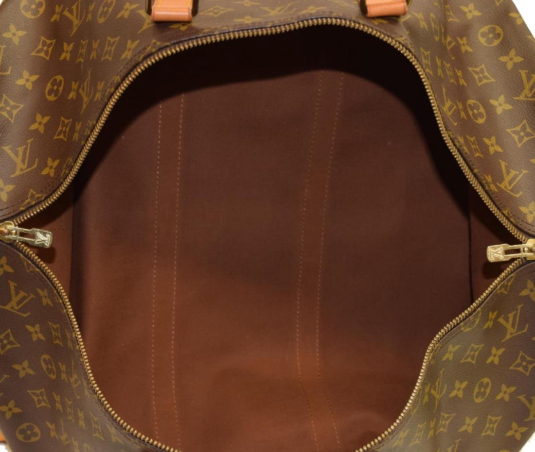 LOUIS VUITTON 'KEEPALL 55 BANDOULIERE' DUFFLE BAG - 4