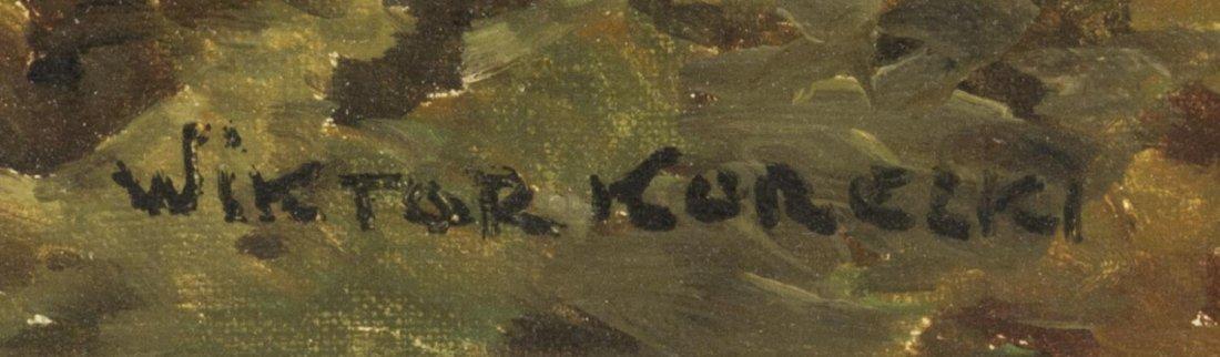 VICTOR KORECKI (1890-1980) LANDSCAPE PAINTING - 4