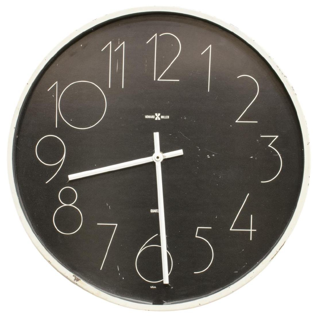 GEORGE NELSON & ASSOC. HOWARD MILLER WALL CLOCK
