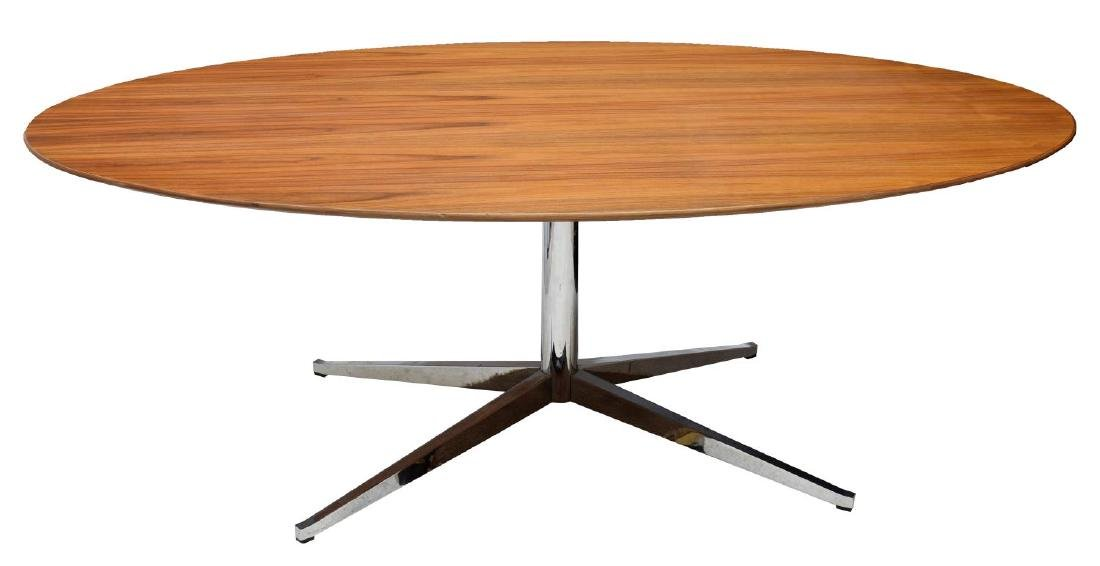 MID-CENTURY MODERN KNOLL INDUSTRIES DINING TABLE - 2