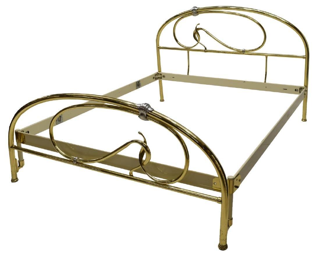 MAURO LIPPARINI (B.1956) ITALIAN MODERN BRASS BED