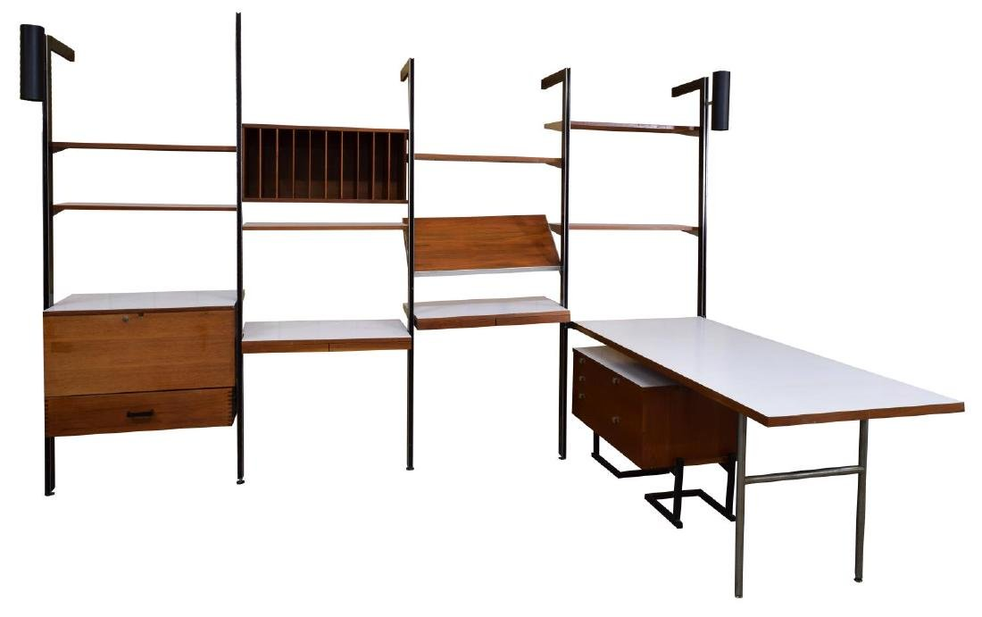 GEORGE NELSON FOR HERMAN MILLER 'CSS' WALL UNIT