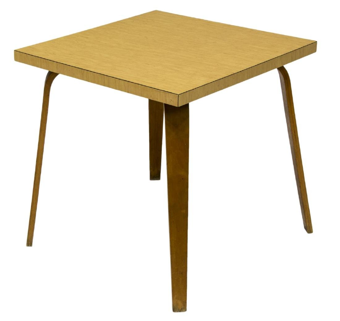 THONET MID-CENTURY MODERN BENTWOOD SIDE TABLE