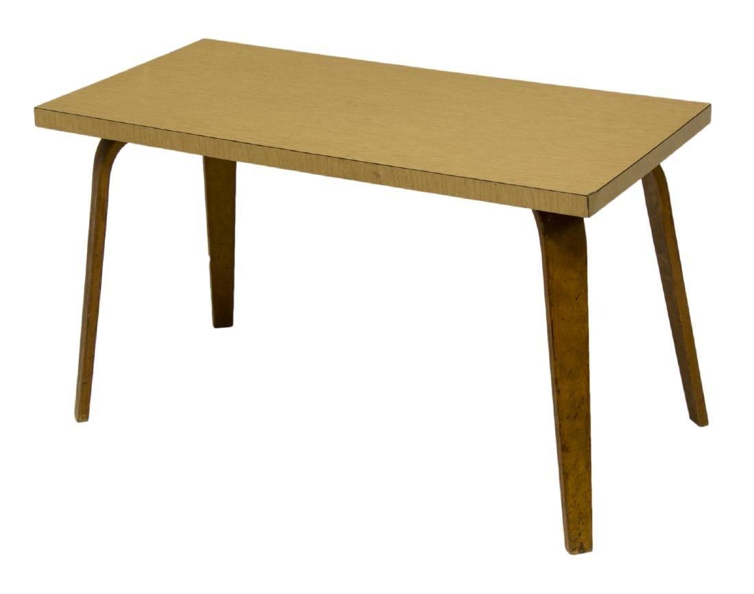 THONET MID-CENTURY MODERN BENTWOOD COFFEE TABLE