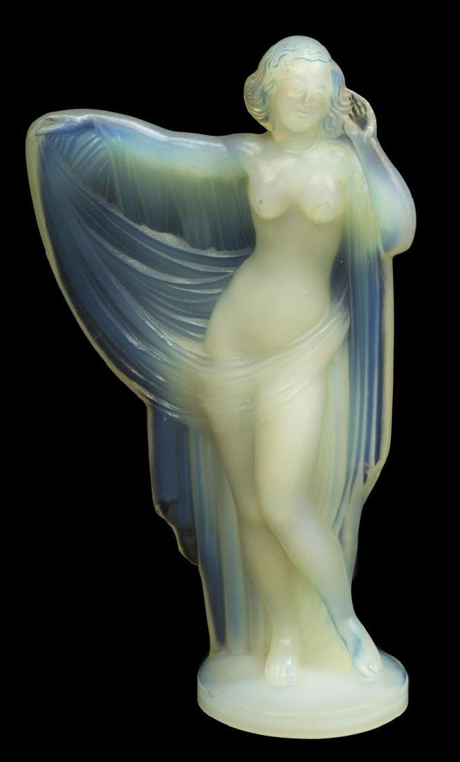 SABINO OPALESCENT ART GLASS 'TANAGRA' FIGURE