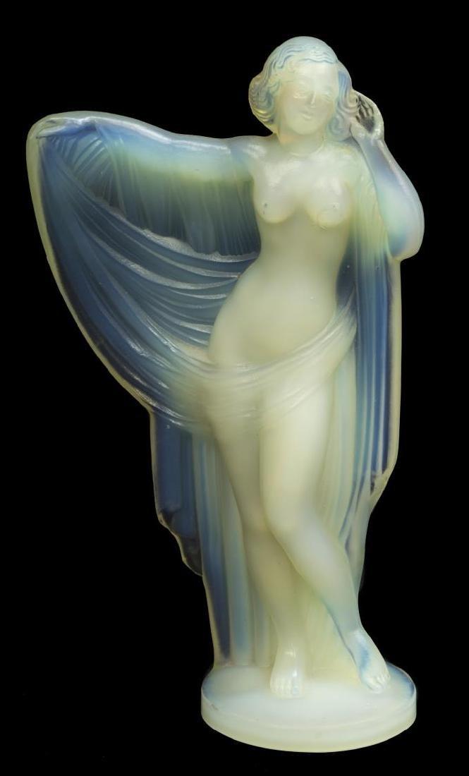 SABINO OPALESCENT ART GLASS 'TANAGRA' FIGURE