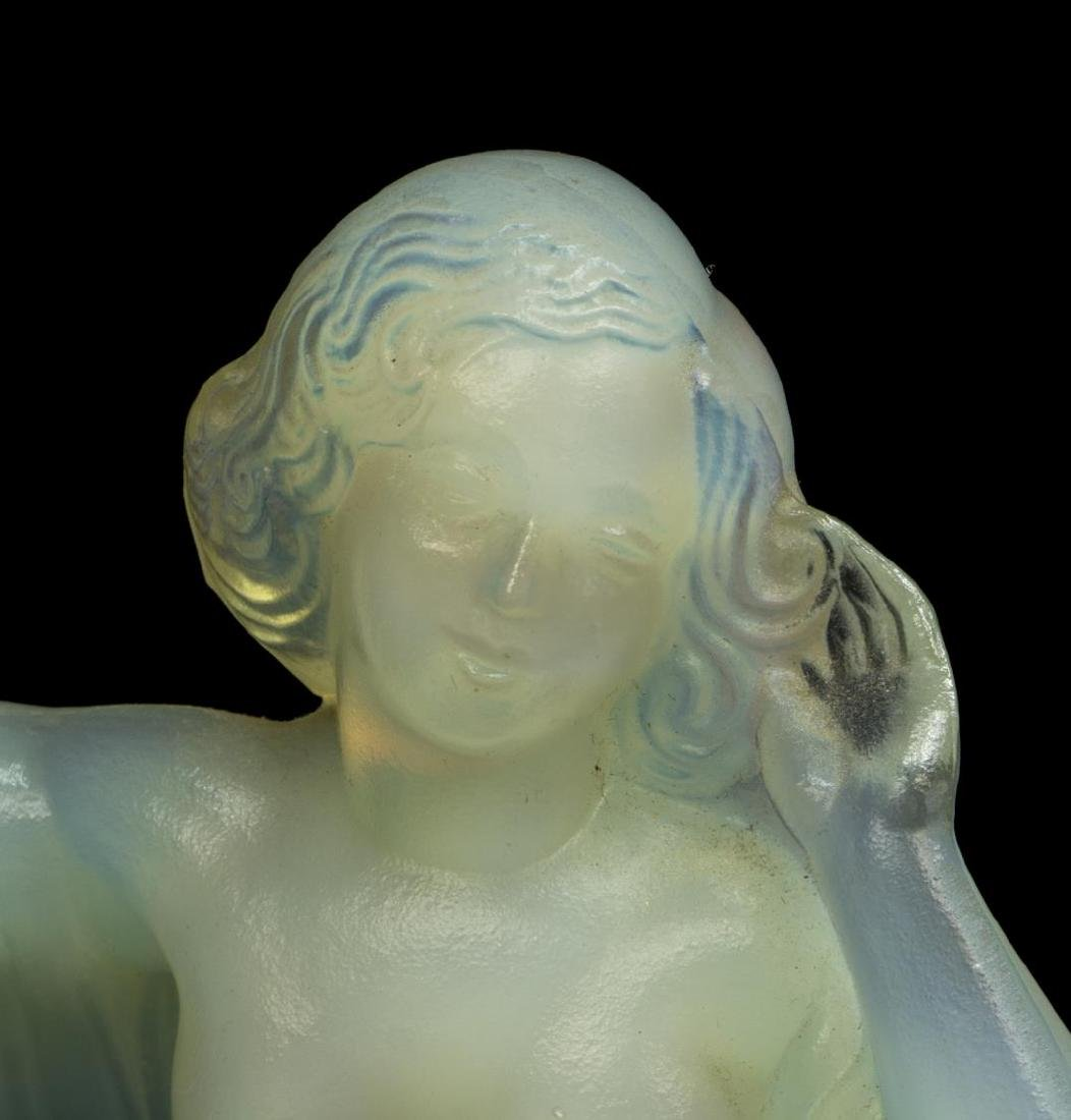 SABINO OPALESCENT ART GLASS 'TANAGRA' FIGURE - 2