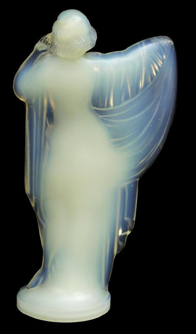 SABINO OPALESCENT ART GLASS 'TANAGRA' FIGURE - 3