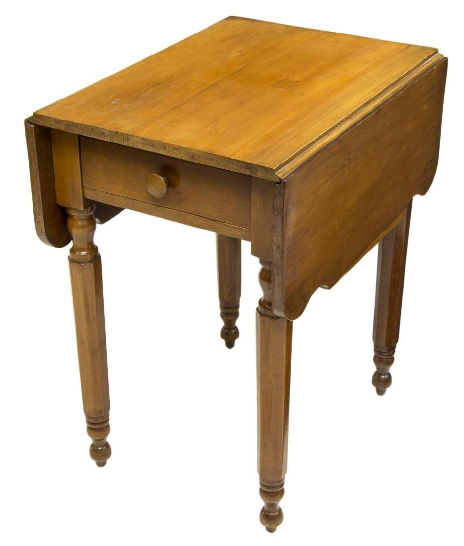 AMERICAN CHERRY DROP-LEAF TABLE