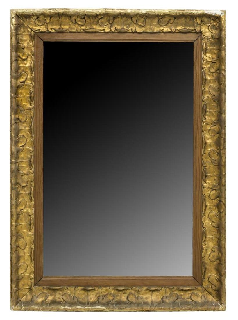 FRENCH GILT MOLDED MIRROR