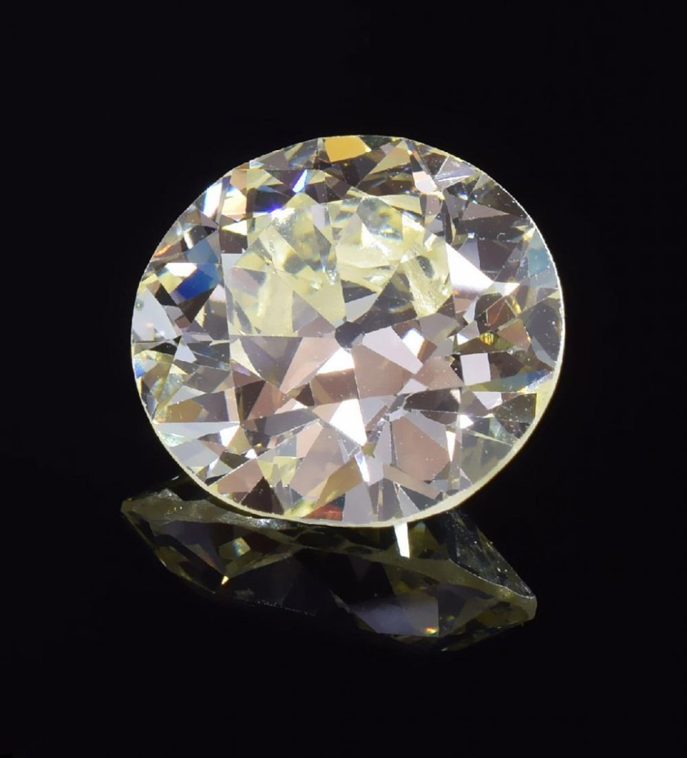 GIA ESTATE 9.09 CT CIRCULAR BRILIANT CUT DIAMOND