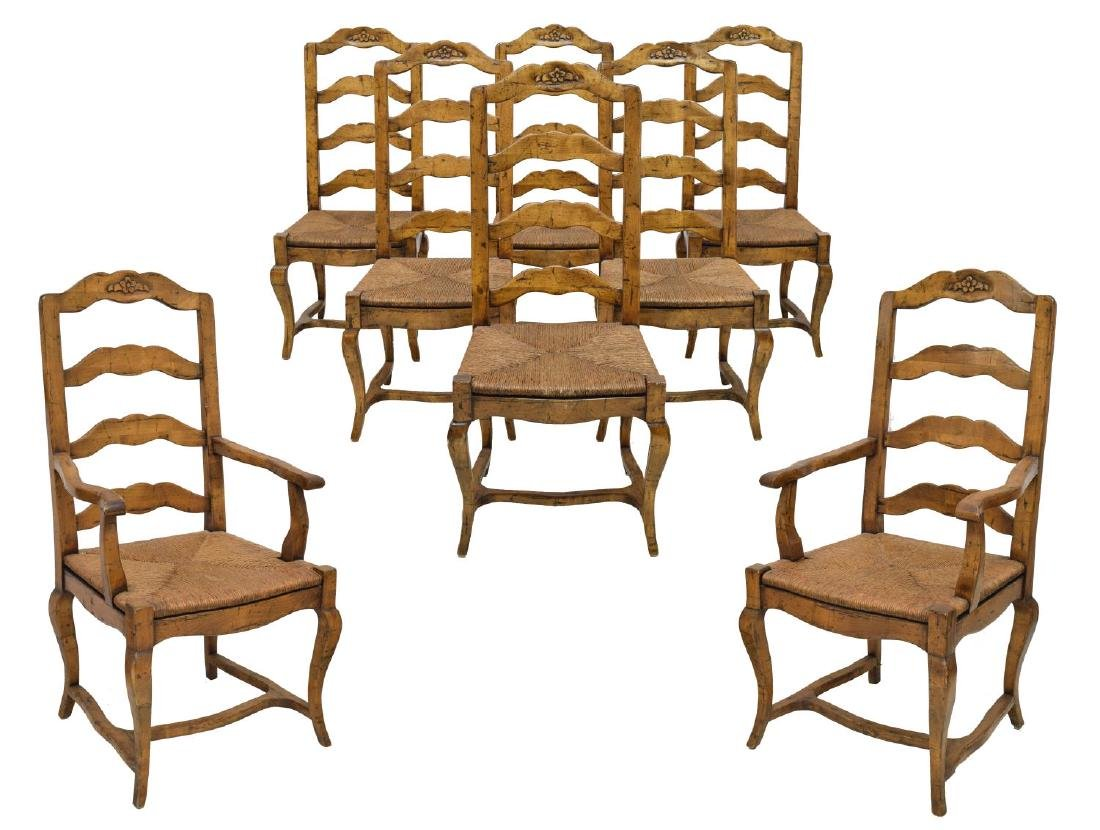 (8) CHADDOCK FOR MELROSE COLLECTION DINING CHAIRS