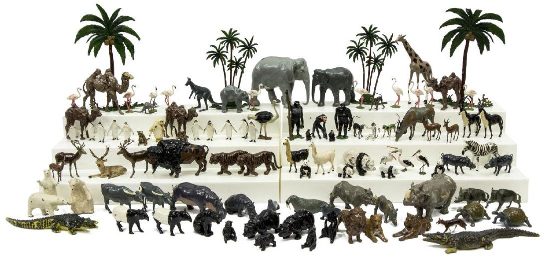 LARGE COLLECTION BRITAIN'S LTD. LEAD ZOO ANIMALS
