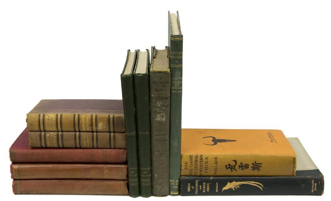 (11) BOOKS, BIRDS, BRITISH MUSEUM, BIG CATS