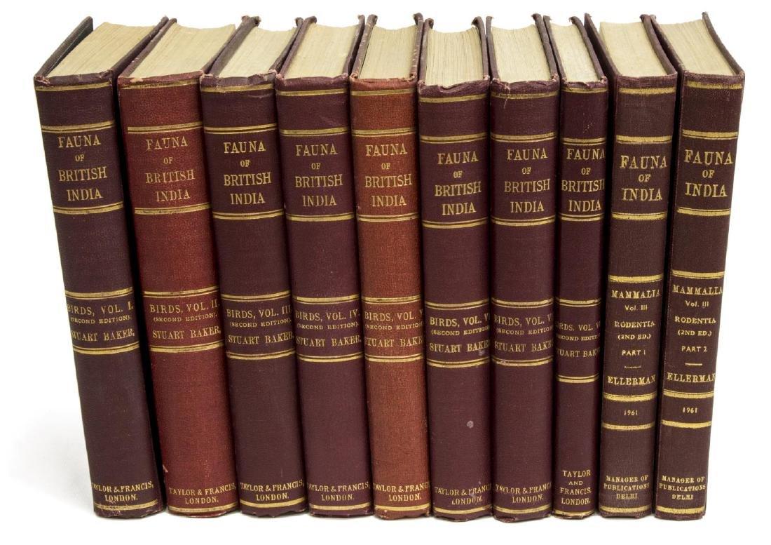 "(8 VOL) BOOKS: ""THE FAUNA OF BRITISH INDIA"""