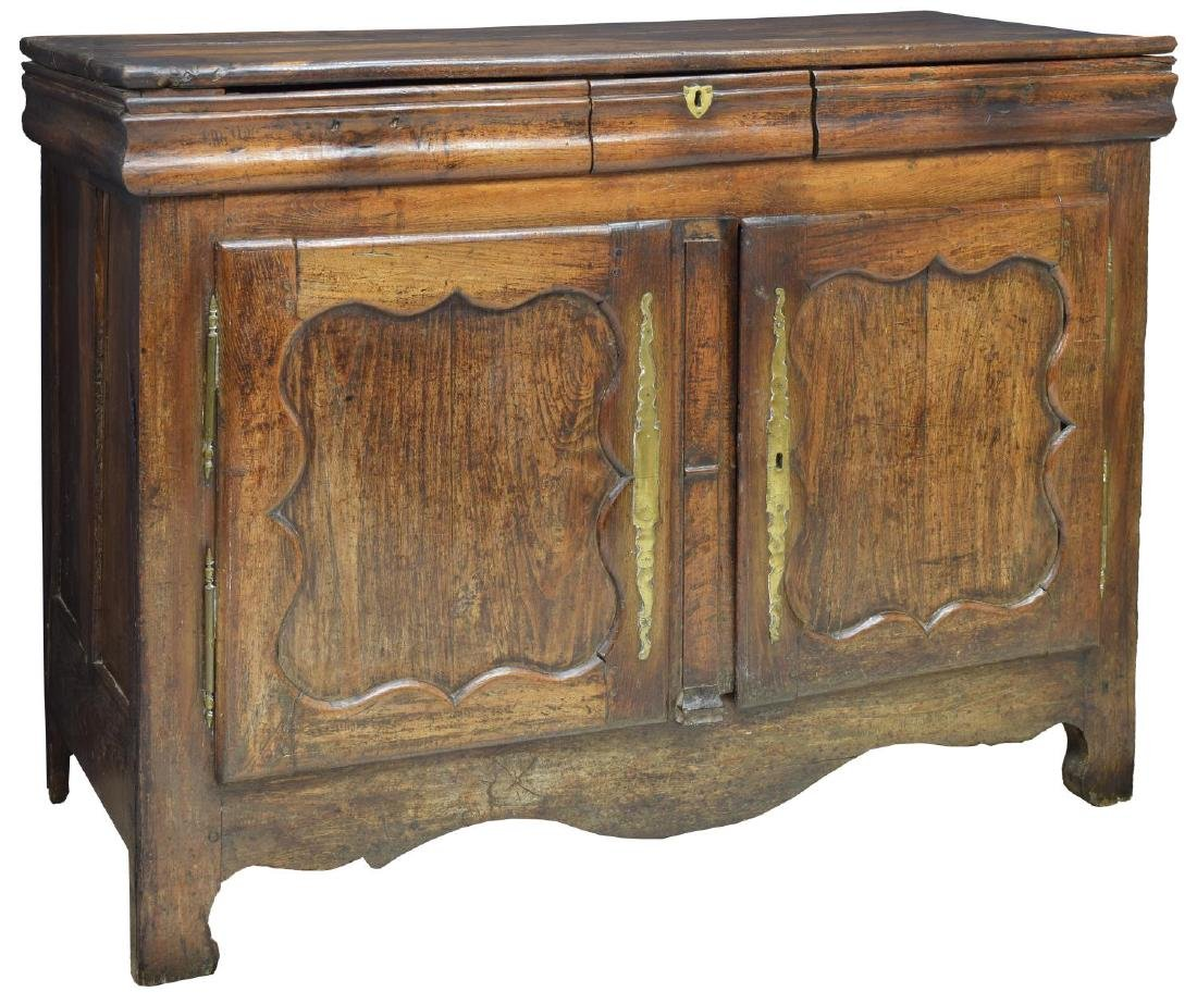 FRENCH PROVINCIAL CARVED OAK SIDEBOARD