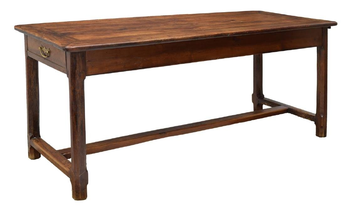 FRENCH PROVINCIAL FRUITWOOD FARM TABLE