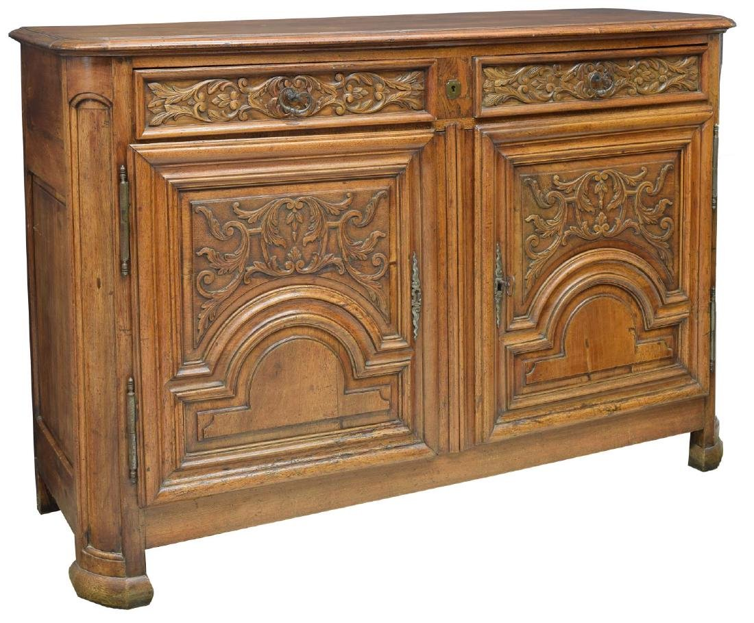 FRENCH PROVINCIAL SIDEBOARD, EARLY 19TH C.