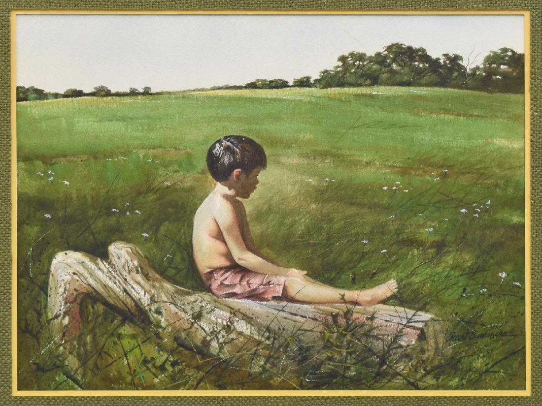ROBERT SUMMERS (TEXAS, B.1940) WATERCOLOR PAINTING