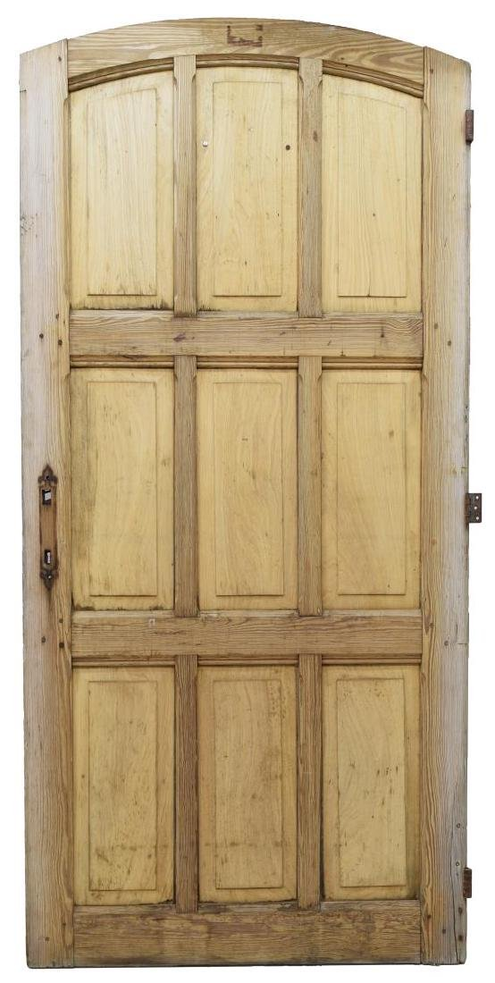 ARCHITECTURAL CARVED PINEWOOD DOOR