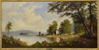 HEINRICH BERGER (B.1898) OIL PAINTING LANDSCAPE