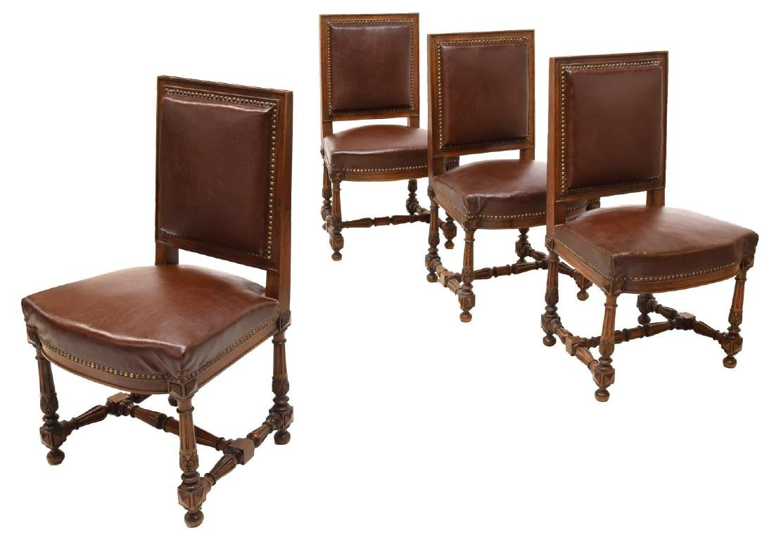 (4) ITALIAN DINING CHAIRS