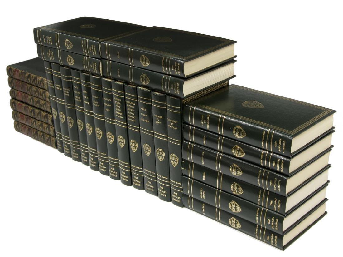 (28) BOOKS, WAVERLEY NOVELS & HARVARD CLASSICS
