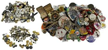 HUGE GROUP OF COSTUME JEWELRY  PARTS  PIECES