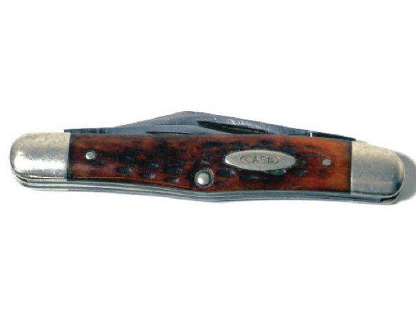 208: CASE XX KNIFE 6308 THREE BLADE WHITTLER USA