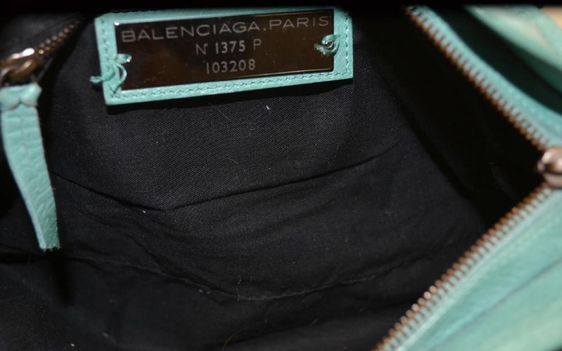 BALENCIAGA MOTOCROSS CLASSIC FIRST ARENA HANDBAG - 4