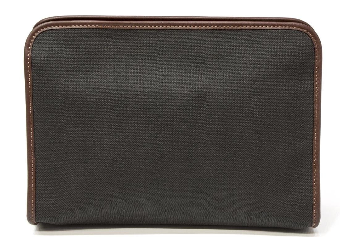 GENT'S ALFRED DUNHILL COATED CANVAS TOILETRY BAG - 2
