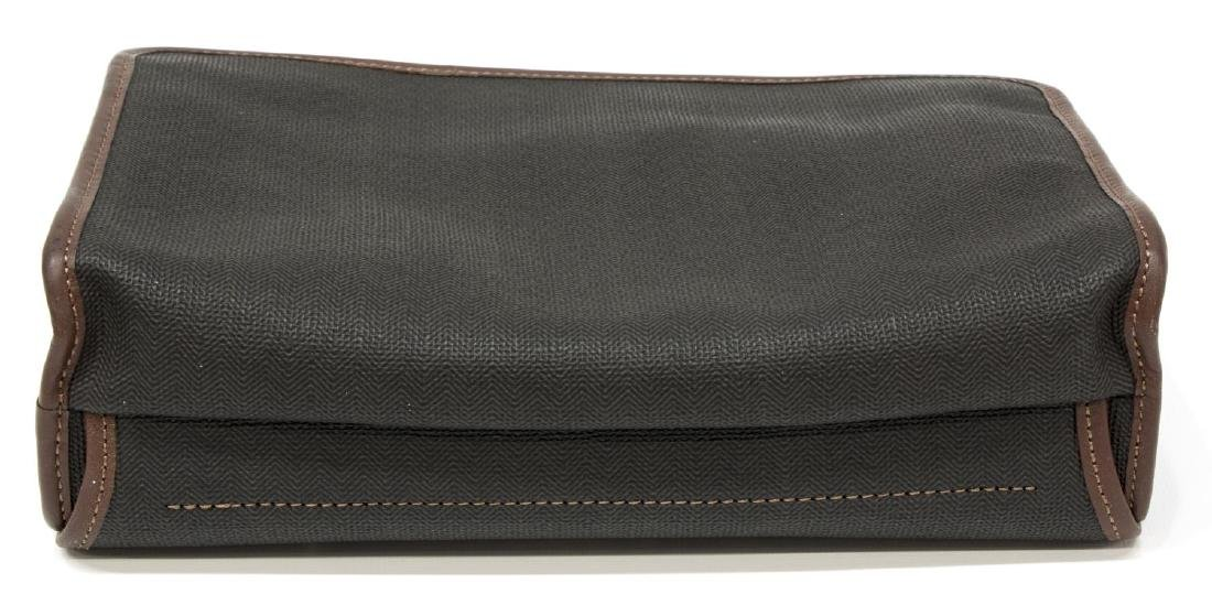 GENT'S ALFRED DUNHILL COATED CANVAS TOILETRY BAG - 3