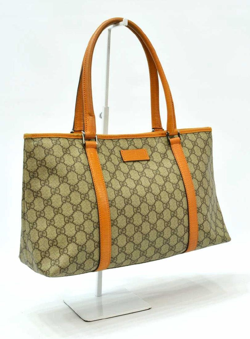 GUCCI 'JOY' GG SUPREME COATED CANVAS TOTE BAG
