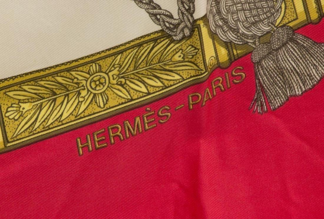 HERMES SILK SCARF, 'GRAND UNIFORME' PATTERN - 2