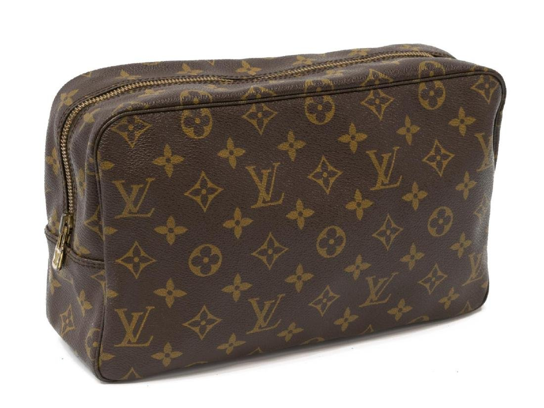LOUIS VUITTON MONOGRAM CANVAS TOILETRY POUCH